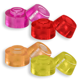 Chaya - Jelly Interlock Cuishions Conical 12mm - Barreled 15mm - 90A - California Roller Skates