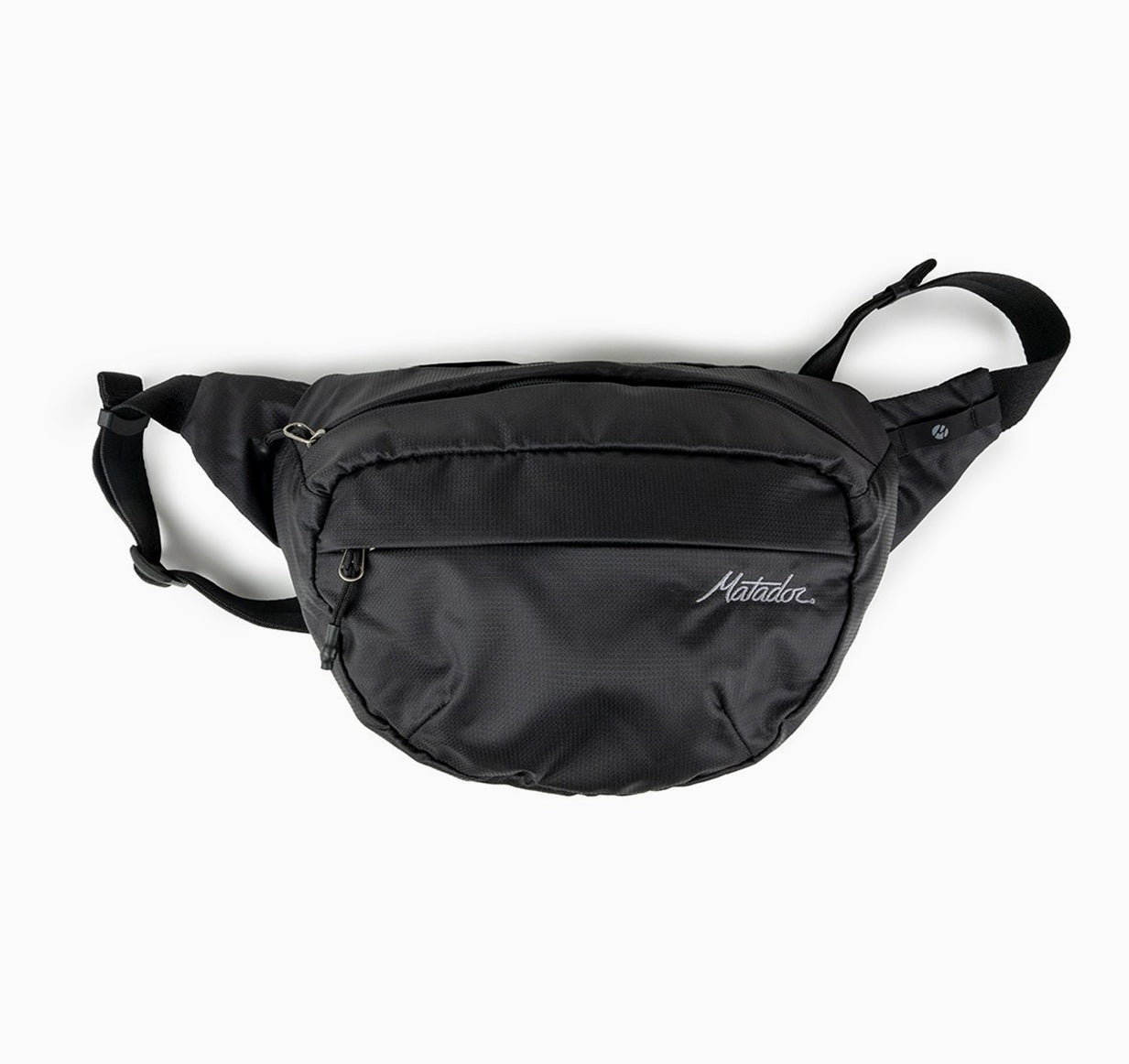Front view of hip pack on white background