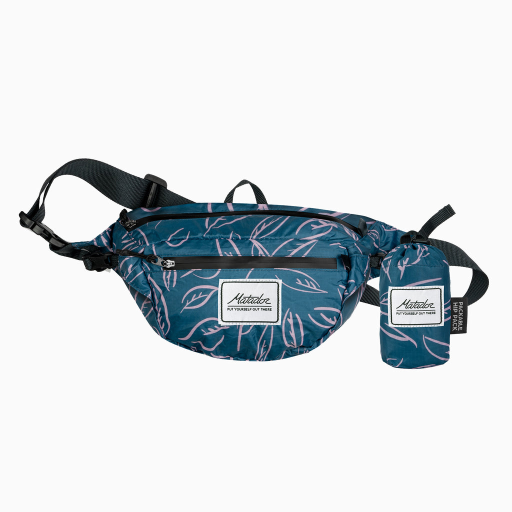 Packable Hip Pack - Leaf