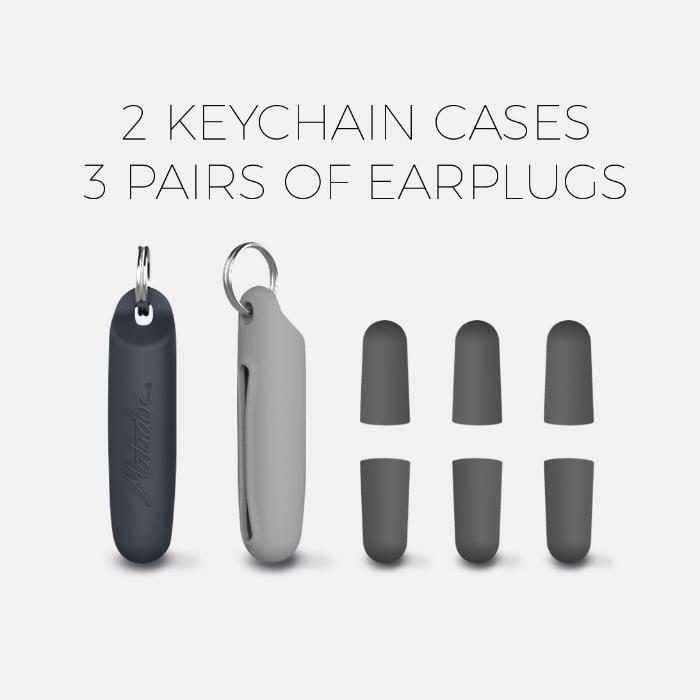 Travel Earplugs Kit