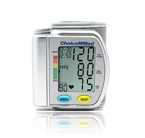 ChoiceMMed Accurate Wrist Blood Pressure Monitor (BP201)