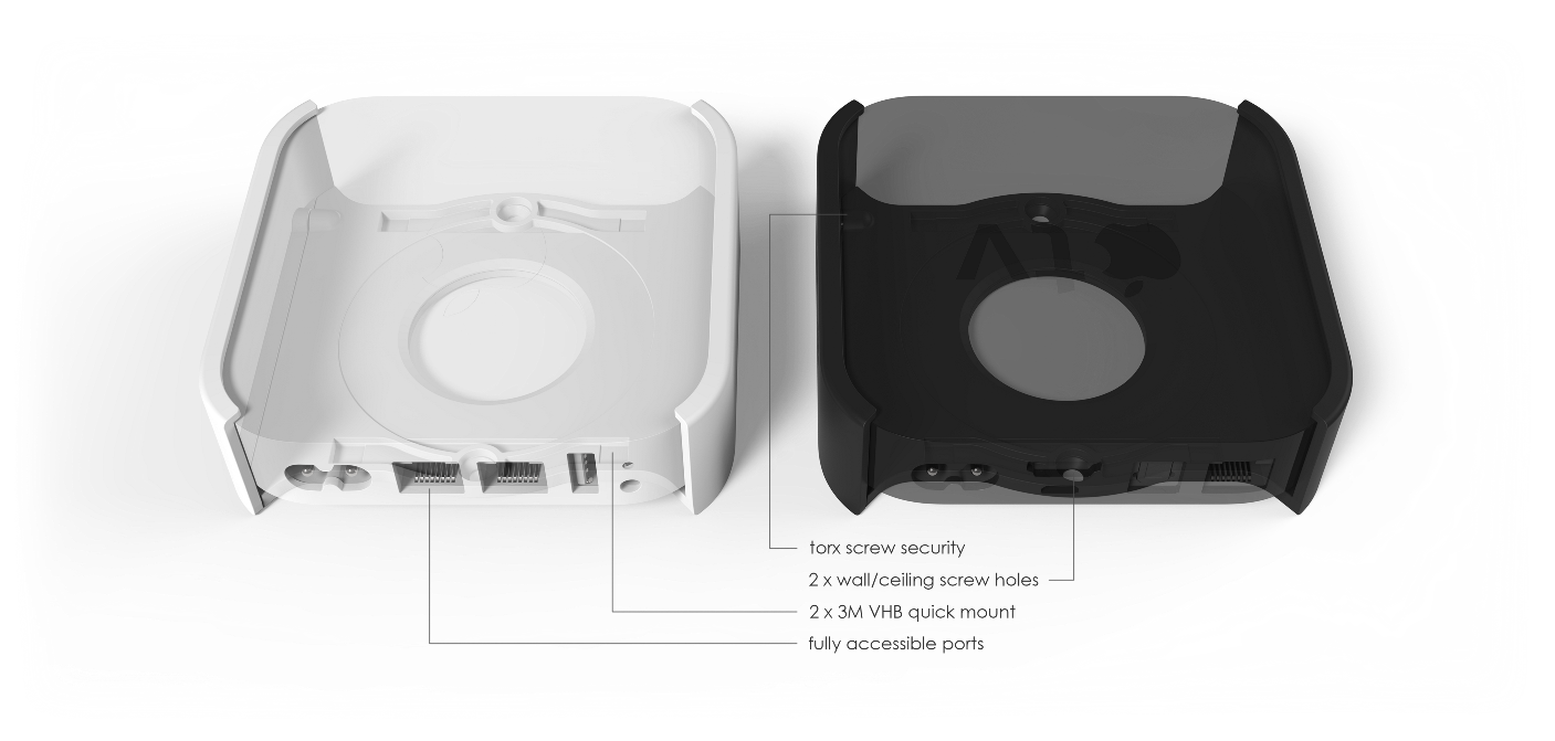 Airlock Wall Ceiling Mount For Apple Airport Express Giros Design