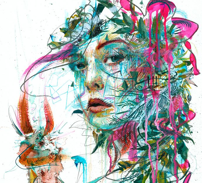 Carne Griffiths at work