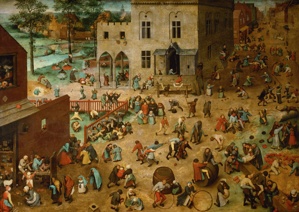 'Children's Games' by Pieter Brueghel