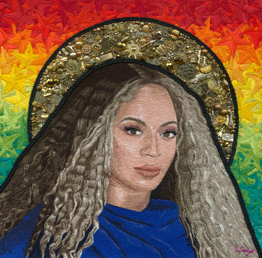 Beyonce by artist Sarah Gwyer - Hatch Limited Editions
