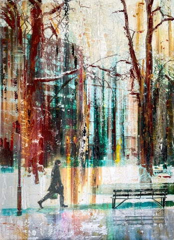New York Winter - Gill Storr