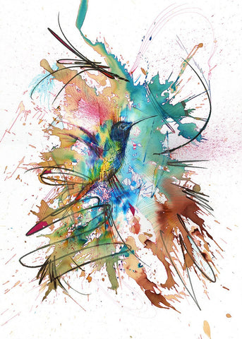 Perfectly Still - Carne Griffiths - Exclusive Collectors Edition