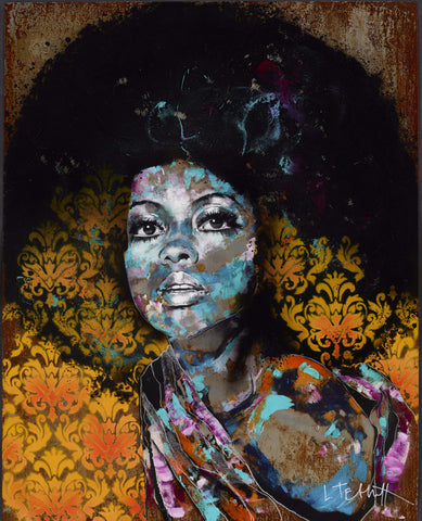 Afro Queen - Louisa Tebbutt