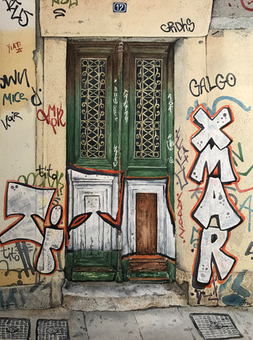 Graffiti House Athens - Jessie Woodgate