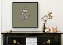 Load image into Gallery viewer, 70 x 70 The Minton Scarab