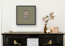 Load image into Gallery viewer, 50 x 50 The Minton Scarab
