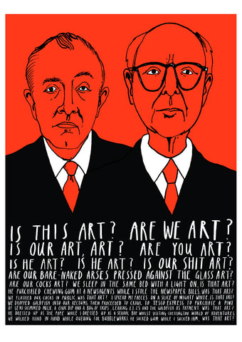 Gilbert & George - Jim Field - British Artists