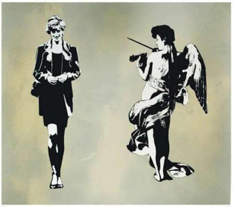 Blek Le Rat - Diana and Angel