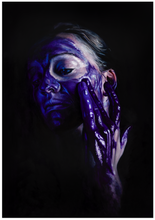 Load image into Gallery viewer, Dioxazine Purple Paint Play - Emma-Leone Palmer