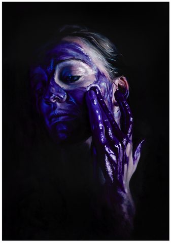Dioxazine Purple Paint Play - Emma-Leone Palmer