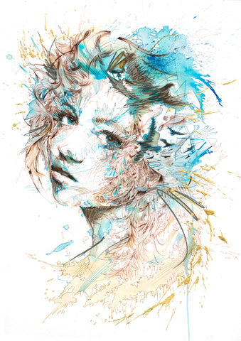 The Cast - Carne Griffiths