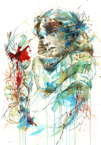 The Curious Flower - Carne Griffiths