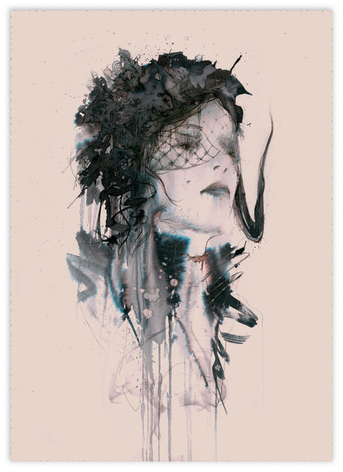 The Woman in Black - Carne Griffiths
