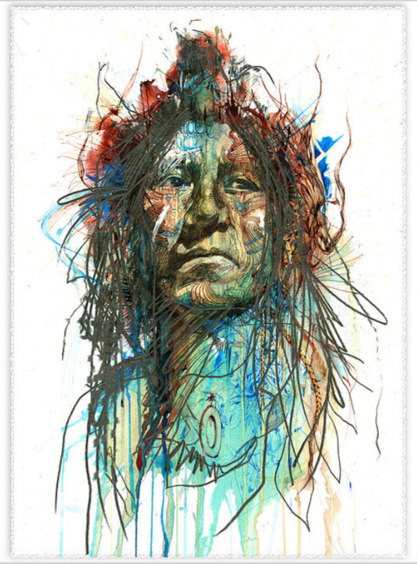 Wild Frontier - Carne Griffiths