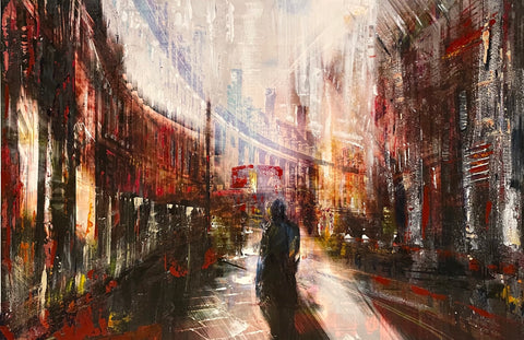 Sunset in London - Gill Storr