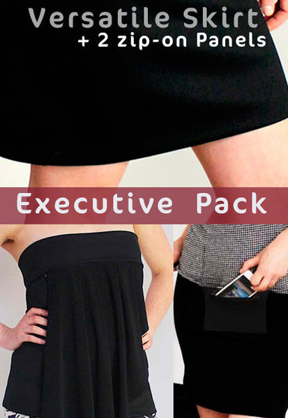 Win a Zippy Skirts Executive style pack for women valued at $209