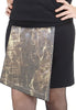 Zippy Skirts zip-on panels - snake print