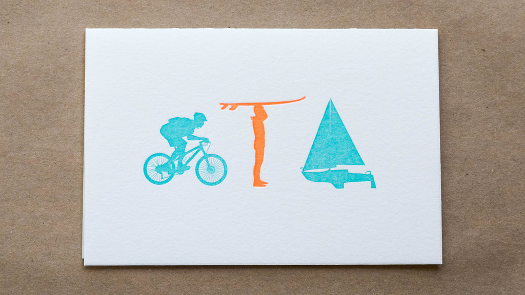 Bike, Surf & Sail