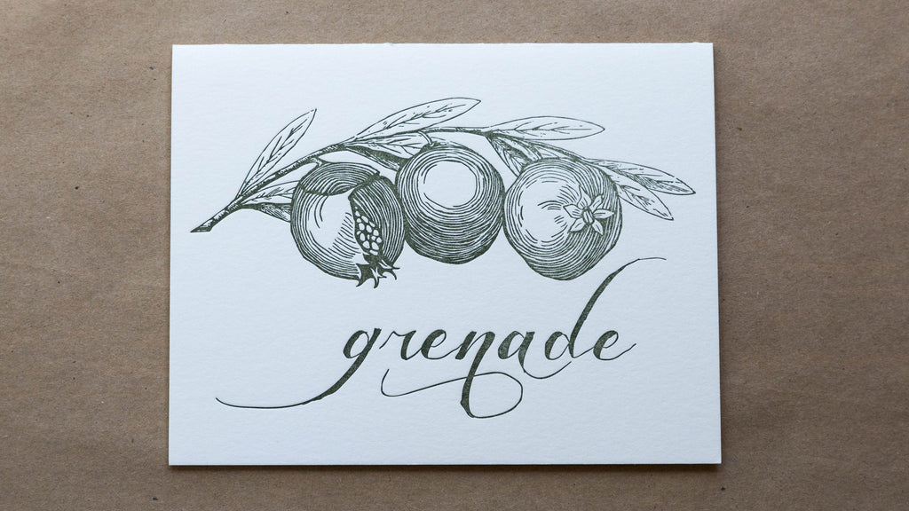 Grenade - Pomagranite