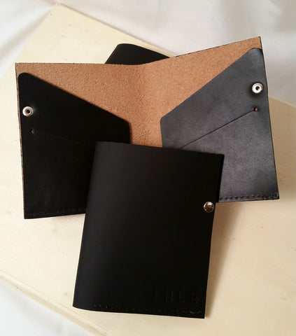 Leather Folding Day Wallet