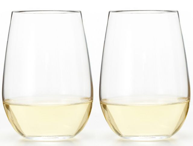 Stemless Riedel O Glasses