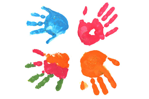 Art Crafted Hand Print