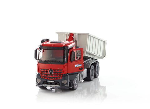 FT100291 BRUDER 03622 - Mercedes Benz Arocs Truck with Roll Off Container