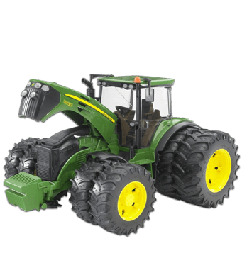 FT100188  BRUDER - 3052 JOHN DEERE WITH TWIN TYRES