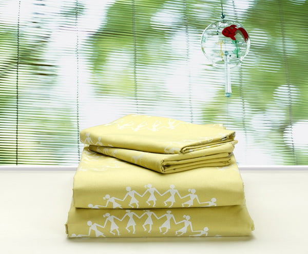 Twin Bedsheet & Pillow Cover