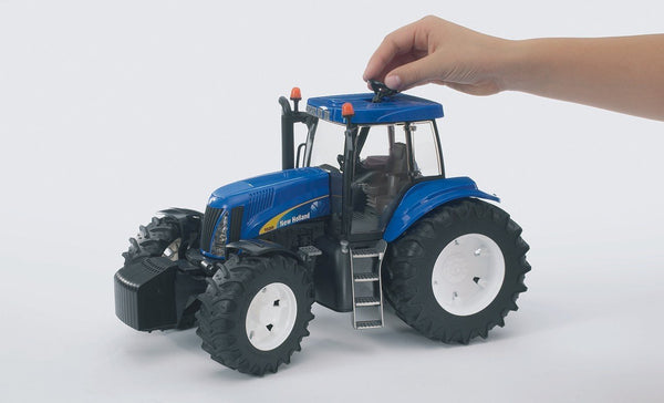 FT100189  BRUDER - 3021 NEW HOLLAND WITH FRONT LOADER