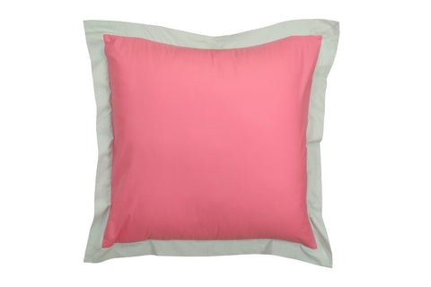Pink Guppy Kids--INH Plain Euro Sham Cover