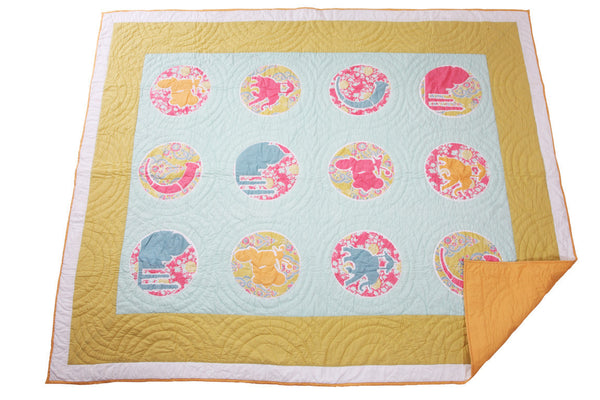100% Cotton Indian Motif Quilt