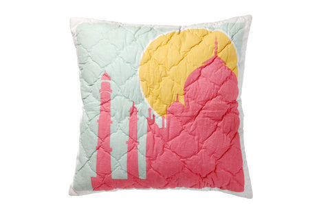 Pink Guppy Kids--INH Decorative pillow cover - 1