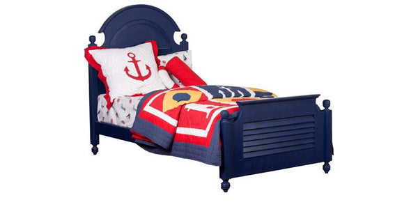 Nautical Bed with Nautical Bedding