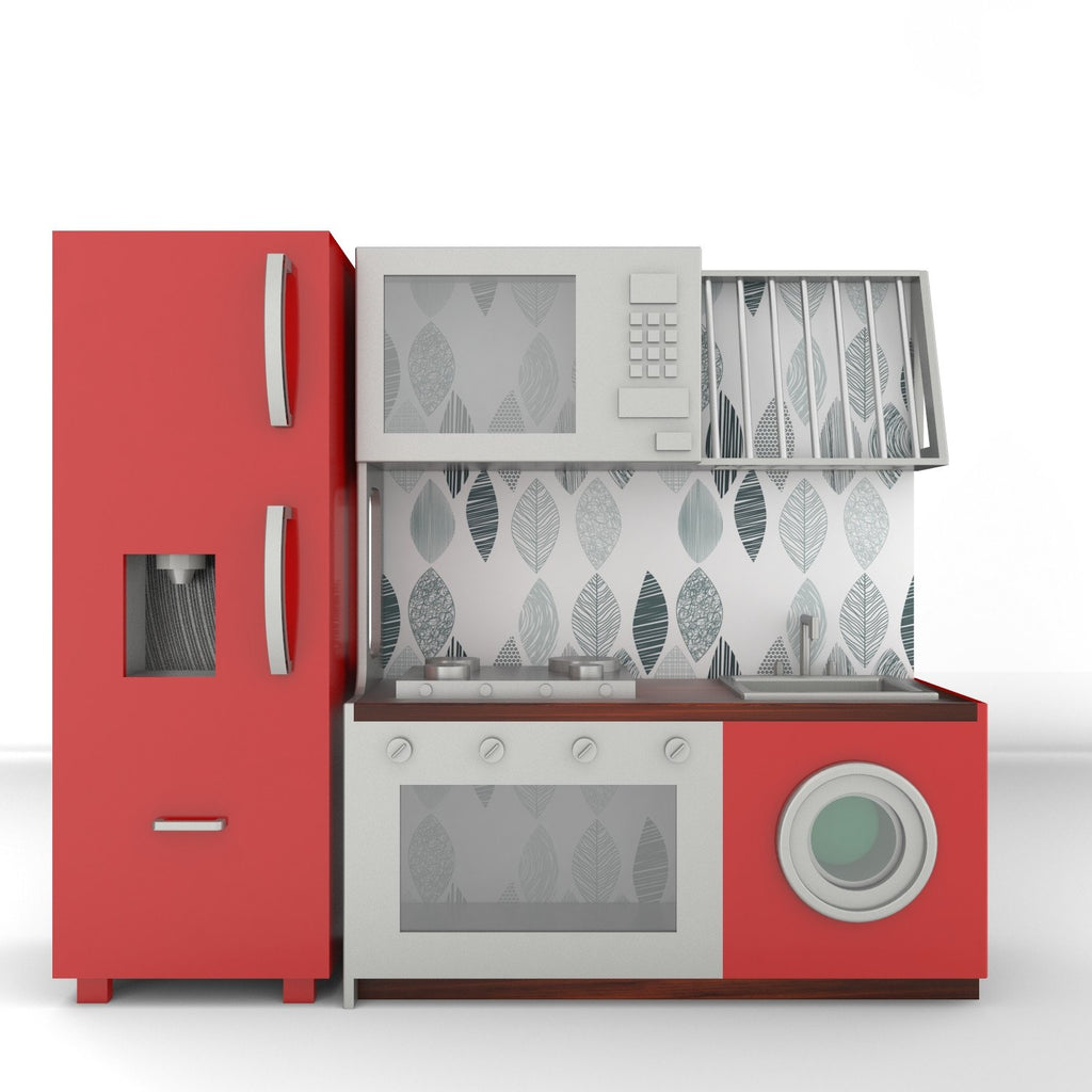 Red Play Kitchen ...