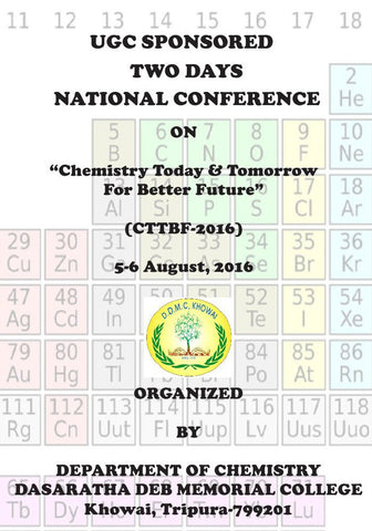 Chemistry Today & Tomorrow For Better Future : UGC Sponsored Two Days National Conference