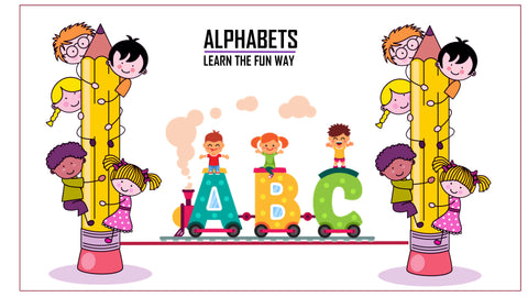 [ Pre - Order ] - Alphabets - Learn the Fun Way