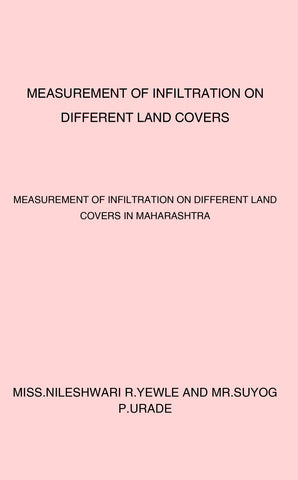 Measurement of Infiltration on Different Land Covers