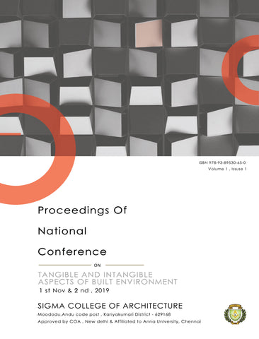 Proceedings Of National Conference On Tangible And Intangible Aspects Of Built Environment