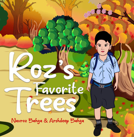 Roz's Favorite Trees - Audio Book