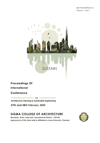 Proceedings of International Conference on Architecture, Planning & Sustainable Engineering