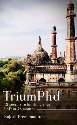 TriumPhD: 12 secrets to finishing your PhD in 48 months