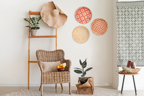 The ways to use wicker baskets effectively 001