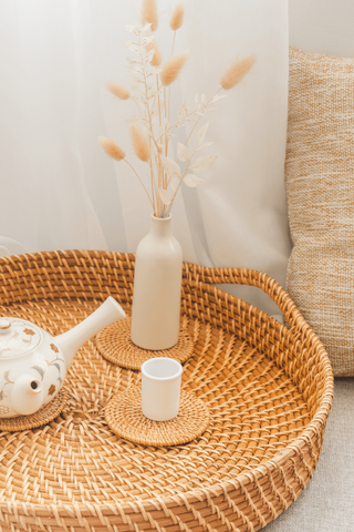 Rattan decor items have highly affordable for every home