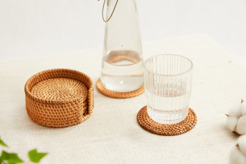 Rattan decor is trendy of natural material nowadays